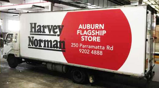 harvey normal auburn truck wrapped in truckskin graphic
